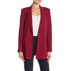 Badgley Mischka Ruby Blazer 4 One Button Tailored